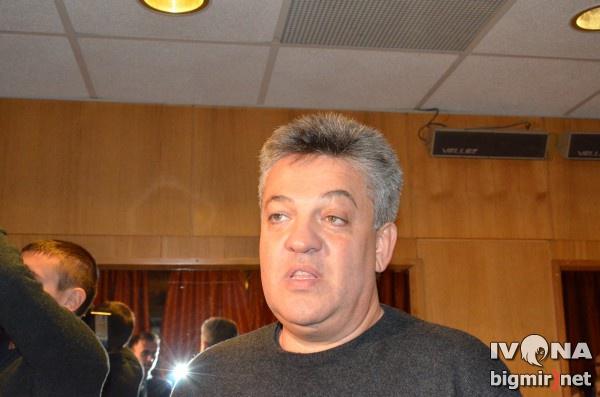 Игорь Лихута на съемке Вечернего квартала