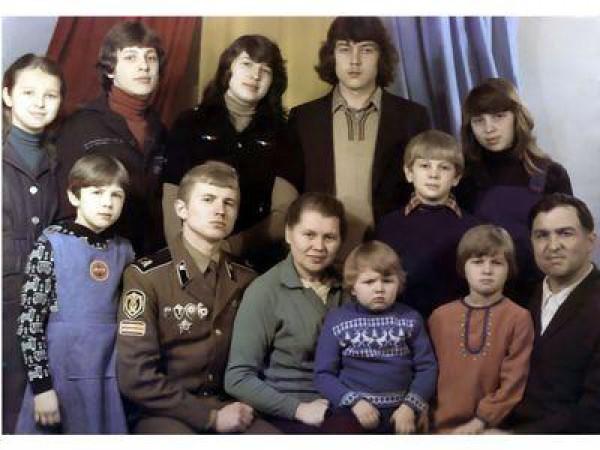 Вся семья Тимофея