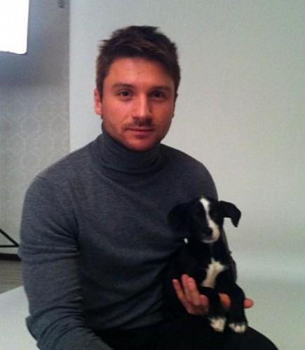 Сергей Лазарев завел собаку
