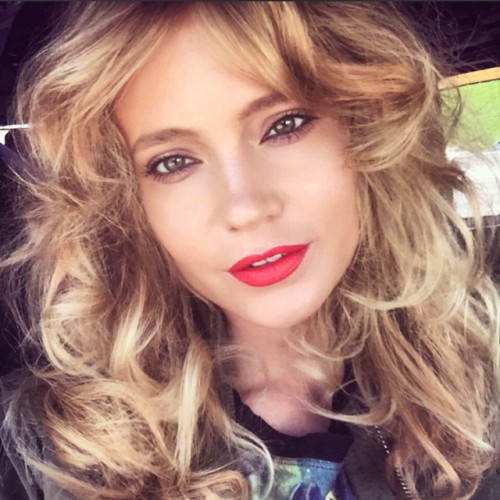Российская певица Глюкоза