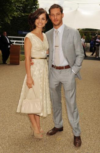 Том Харди и Шарлотта Райли поженились