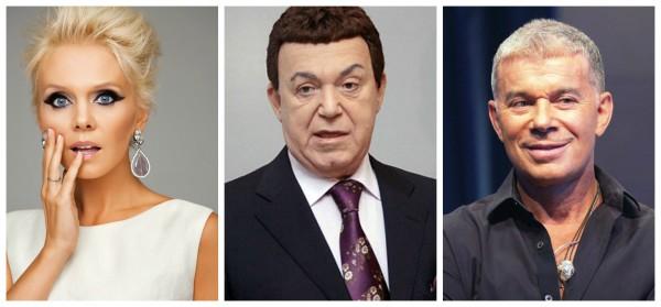 Собчак заступилась за Валерию, Кобзона и Газманова