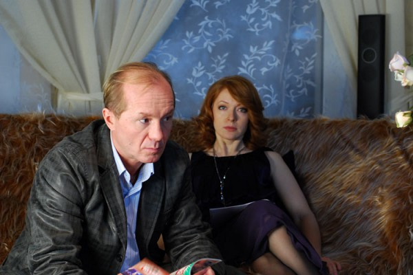 Андрей Панин с супругой Натальей Рогожкиной