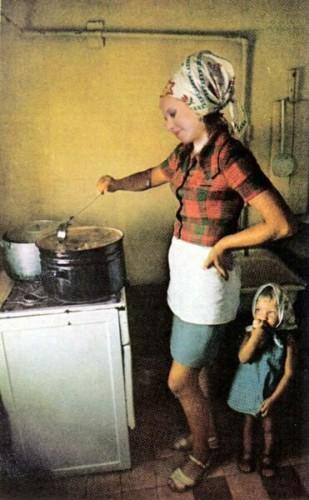 Ксюша Собчак стала домашней хозяйкой (фото)