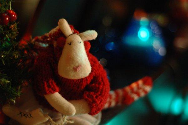 Елочные игрушки, которые певица купила во время визита в США