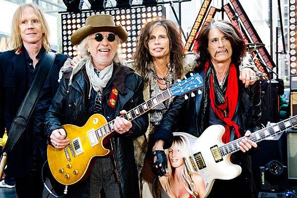 Группа Aerosmith побоялась ехать в Киев
