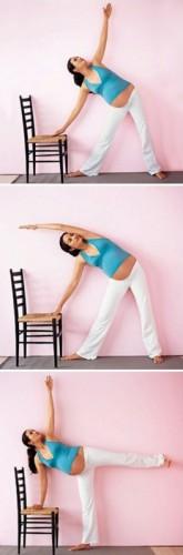 Йога для беременных: Упражнение 2