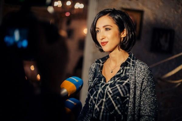 Украинская певица Анна Завальская