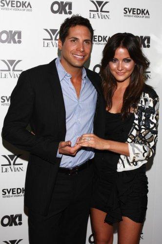 Новая девушка Дэвида Кристина со своим бывшим мужем