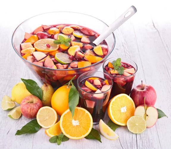 Рецепт                  Летний фруктовый пунш