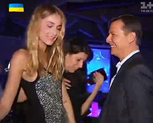Олег Ляшко со Снежаной Онопко