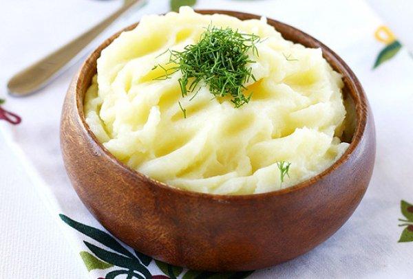 Рецепт                  Классическое картофельное пюре