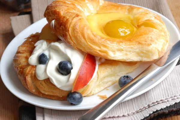 Рецепт                  Даниш с абрикосами