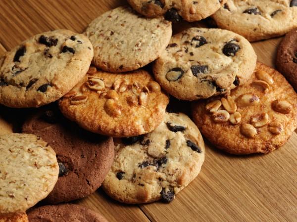 Рецепт                  Домашнее печенье с миндалем и шоколадом