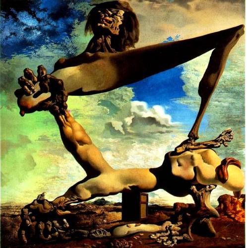 Картина художника Сальвадора Дали