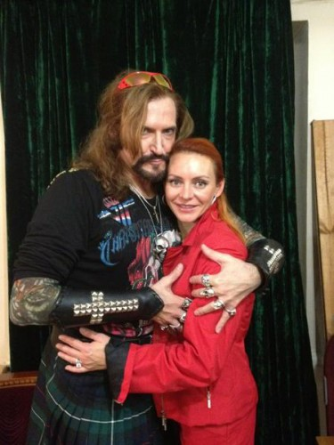 Никита Джигурда со своей женой