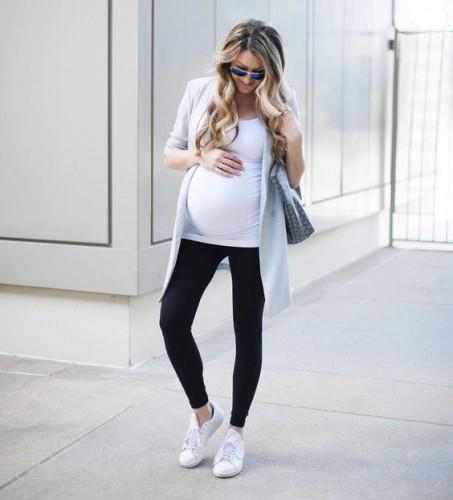 Стильная беременность: Что носить весной и летом