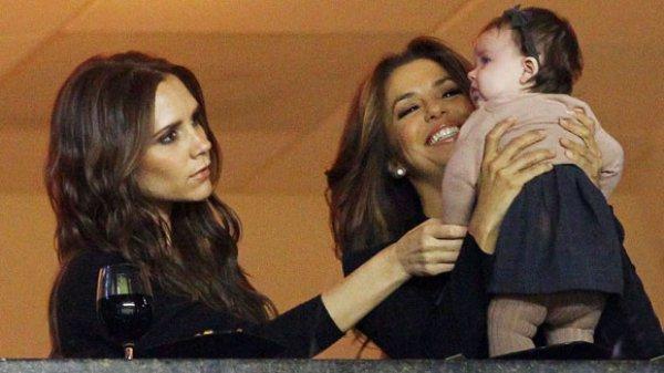 Ева Лонгория станет крестной мамой дочки Виктории Бекхэм