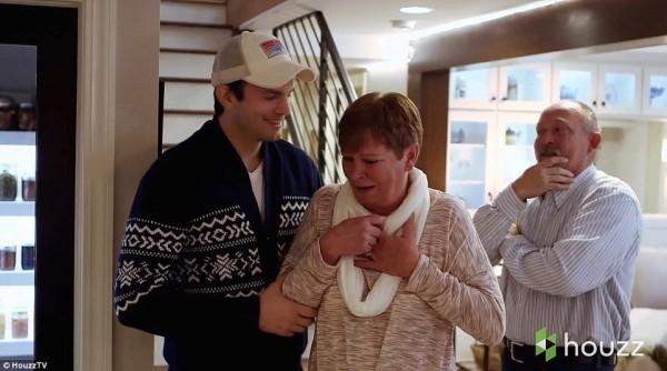 Эштон Катчер со своей мамой