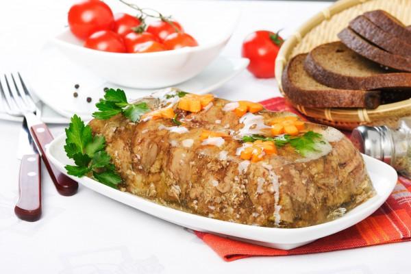 Рецепт                  Пасхальные рецепты: Янтарный холодец
