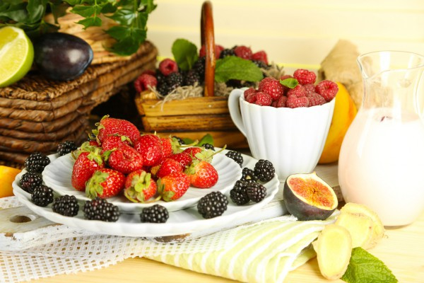 Ягоды содержат антиоксиданты