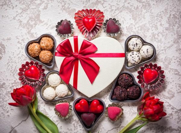 Домашние конфеты на День Валентина