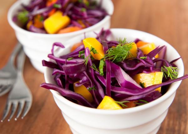 Рецепты из фиолетовой капусты