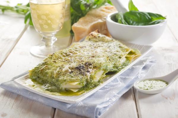 Международный день без мяса: лазанья с зеленью