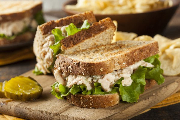 Рецепты для пикника: сэндвич с тунцом