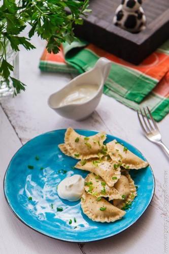Вкусный рецепт: вареники с картошкой на кефире