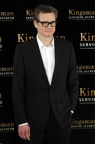 Колин Ферт на премьере фильма Kingsman: Секретная служба в Испании