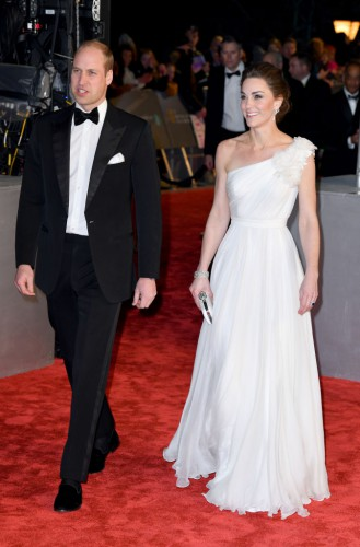 Принц Уильям и Кейт Миддлтон на премии BAFTA
