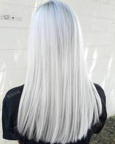 Платиновый блонд фото