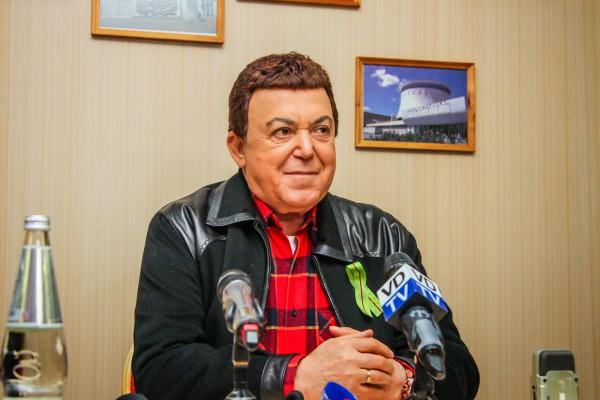 Российский артист Иосиф Кобзон