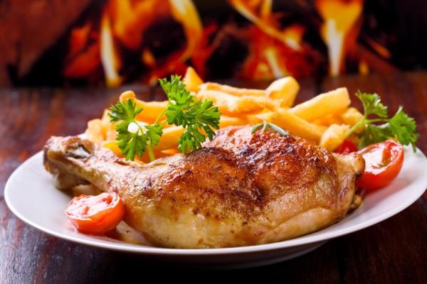 Рецепт                  Куриные бедрышки на гриле