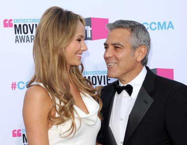 Джордж Клуни и Стейси Киблер расстались