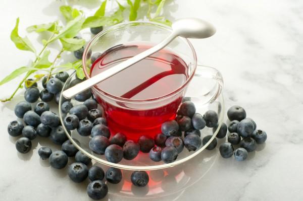 Рецепт                  Чай из листьев черники
