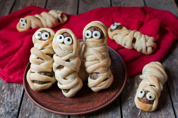 Детские блюда на Хэллоуин