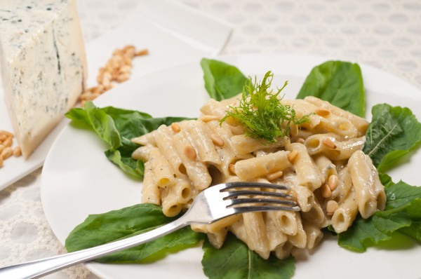 Рецепт                  Паста со сливочно-шпинатным соусом