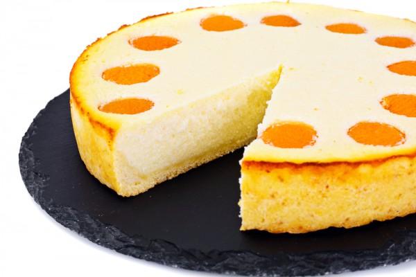 Песочный абрикосово-творожный пирог