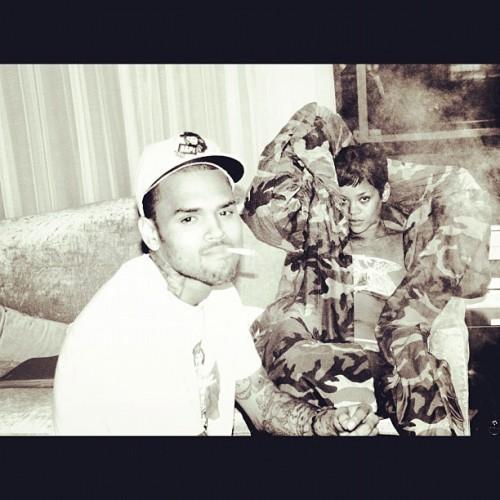 Впервые за долгое время Крис Браун опубликовал фото, на котором он вместе с Рианной