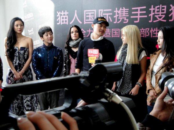 На съемочной площадке китайского реалити-шоу