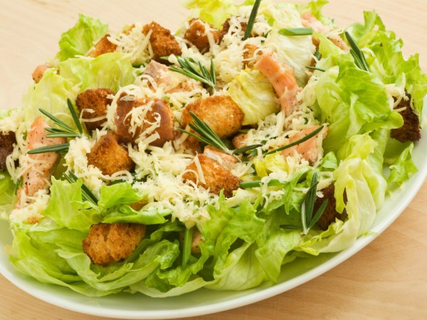 Рецепт                  Классический салат Цезарь