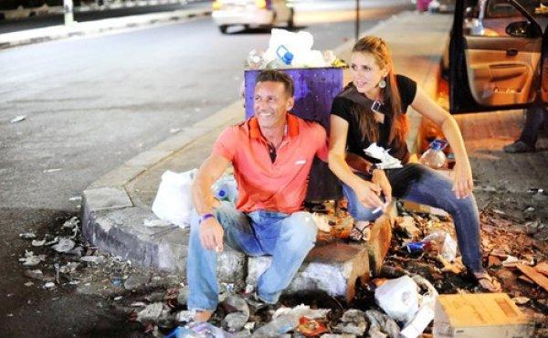 Иван Матвиенко вместе с дочкой Ириной в Египте
