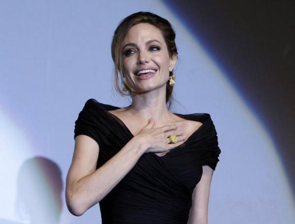 Американская актриса и режиссер Анджелина Джоли