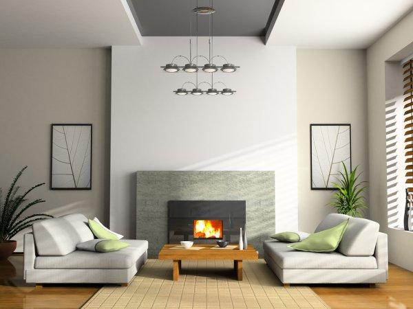 Картины нельзя вешать под самый потолок, композицию должно быть хорошо видно