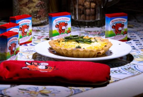 Французский пирог с сыром