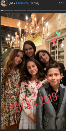Instagram Дженнифер Лопес