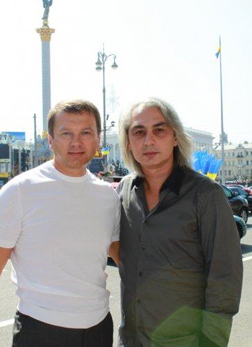 Тимофей Нагорный и Олег Шмелев