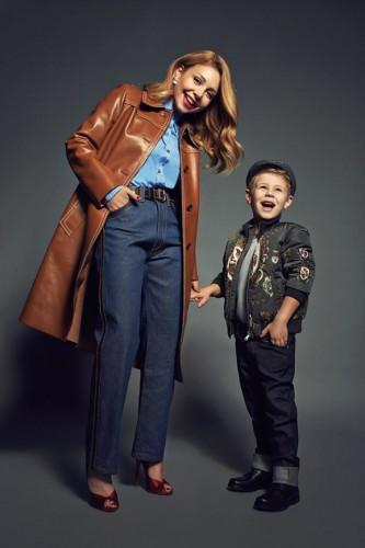 Тина Кароль вместе с сыном Вениамином